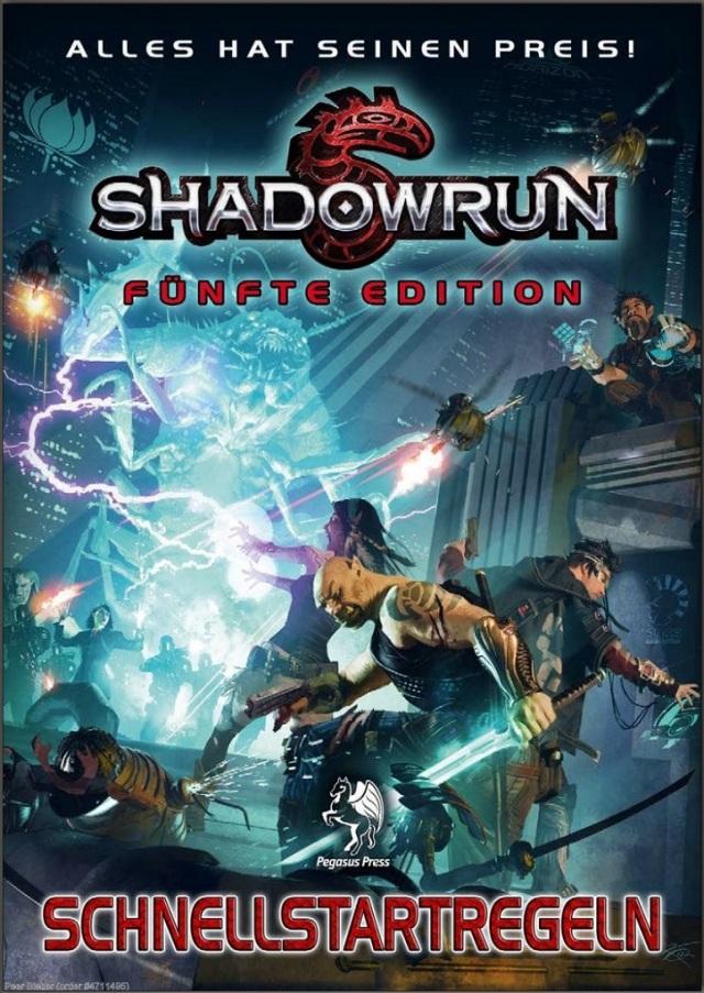 Shadowrun 5 Schnellstartregeln - Cover