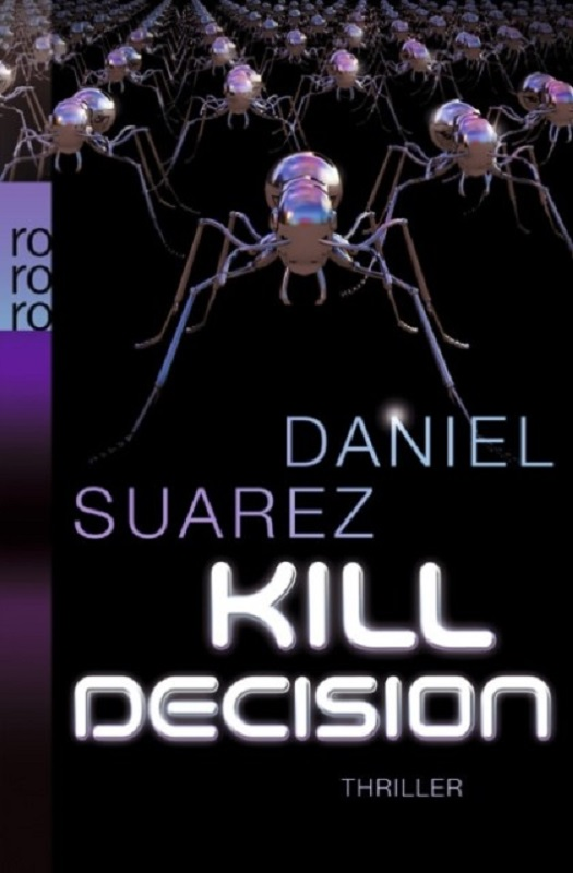 Daniel Suarez - Kill Decision - Cover