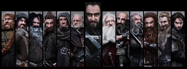 Der Hobbit - Eine unerwartete Reise - Dwarf Characters