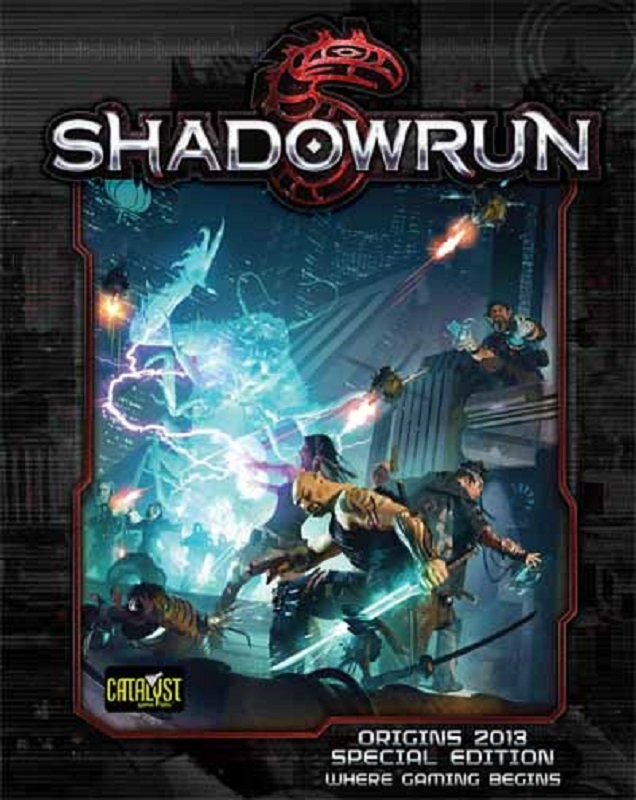 Shadowrun 5 GRW - Origins 2013 SE - Cover