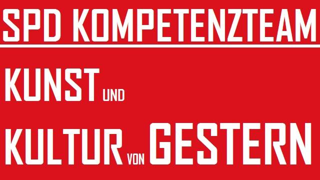 SPD Kunst und Kultur von gestern - logo