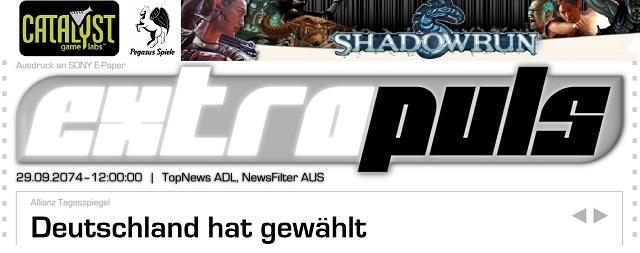 SR Extrapuls02 - Bundestagswahl 2074 - Logo