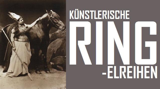 Künstlerische Ring-elreihen - Logo
