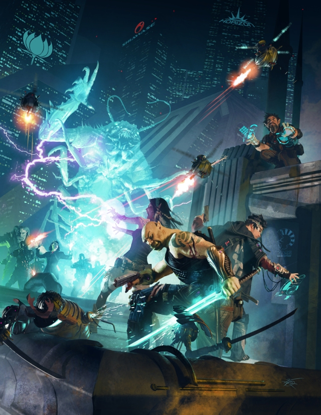 Shadowrun 5 - Main Cover