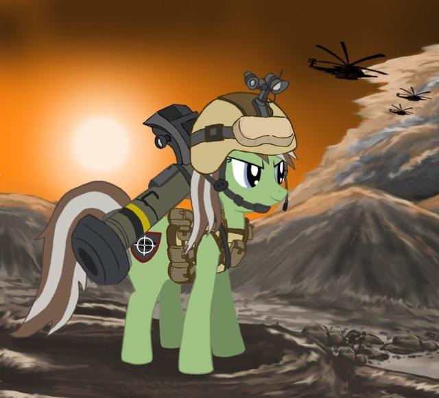 Anti-Mech Pony