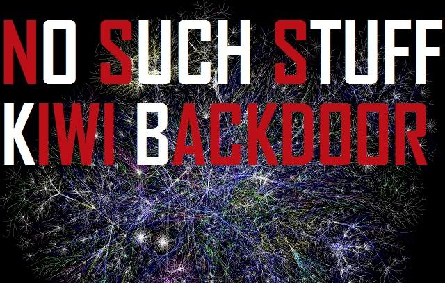 NSS - Kiwi backdoor