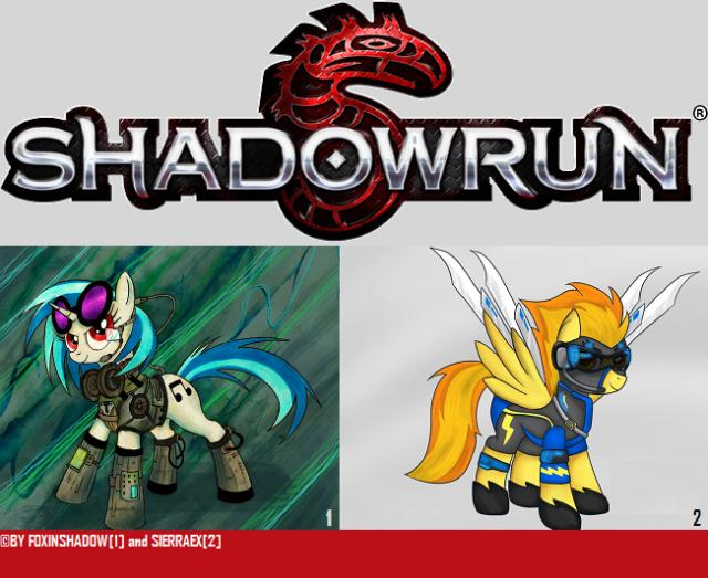 Shadowrun 5 - MLP Logo