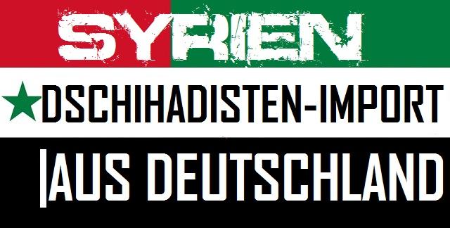 Syrien - Dschihadisten-Import - Logo