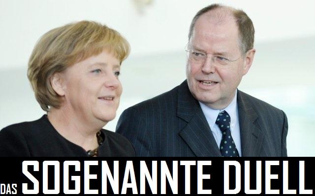 Steinbrueck: Merkel hat einen Frauenbonus