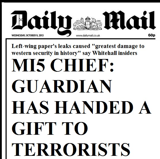 Daily Mail - Gift to terrorists