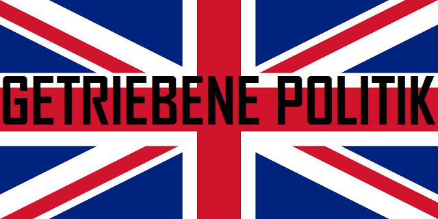 Getriebene Politik - Logo