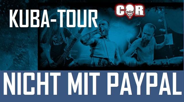 Kuba-Tour, Nicht mir PayPal