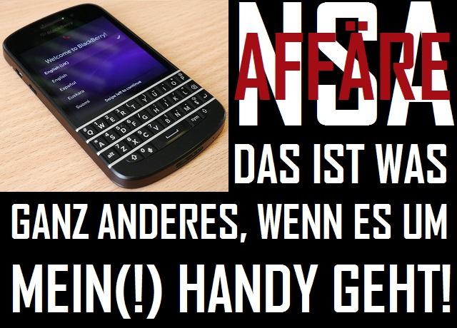 NSA - Mein Handy - Logo