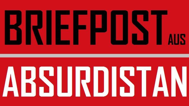 Briefpost aus Absurdistan - Logo
