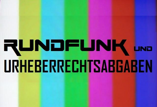 Rundfunk und Urheberrechtsabgaben - Logo