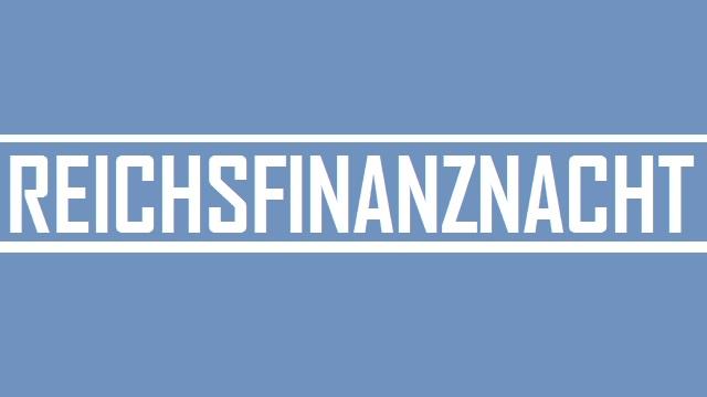 Reichsfinanznacht - Logo