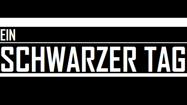 Schwarzer Tag - Logo