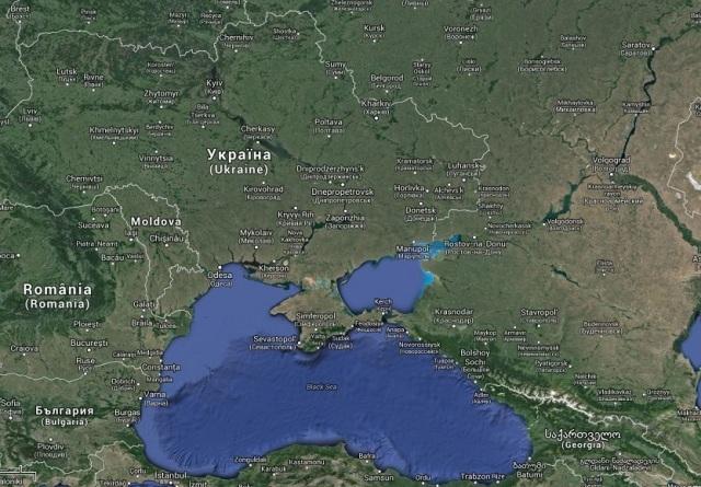 Krim-Krise - Karte