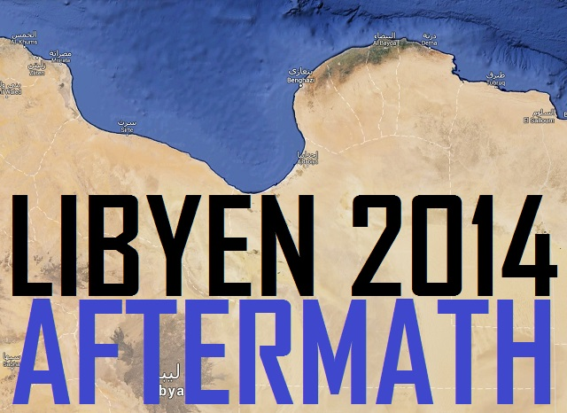 Libyen Aftermath - Logo