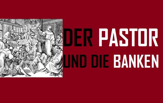 Der Pastor und die Banken - Logo
