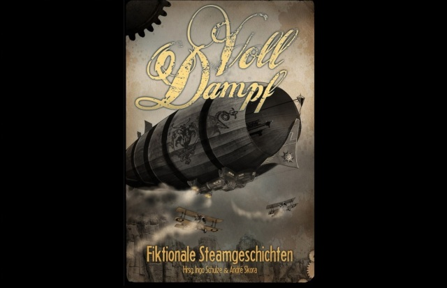 Volldampf - Steampunk-Anthologie - Cover
