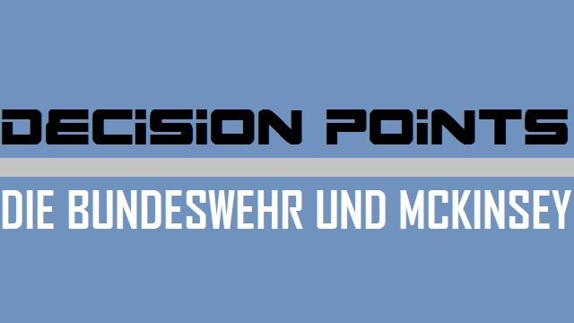 Decision Points - Bundeswehr und McKinsey - Logo