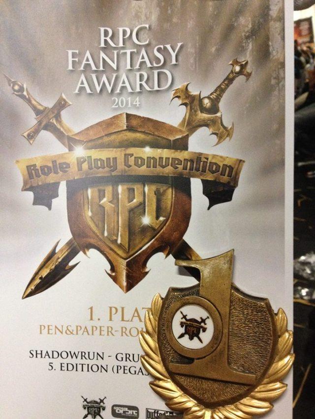Shadowrun 5 - RPC Award 2014