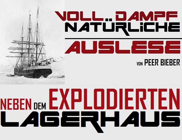 Voll Dampf - Natürliche Auslese - Neben dem explodierten Lagerhaus - Logo