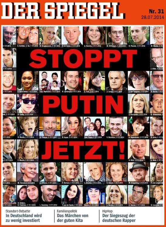 Spiegel Cover - 31 - 2014 - Stoppt Putin jetzt