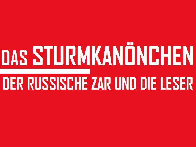Spiegel Sturmkanönchen - Logo