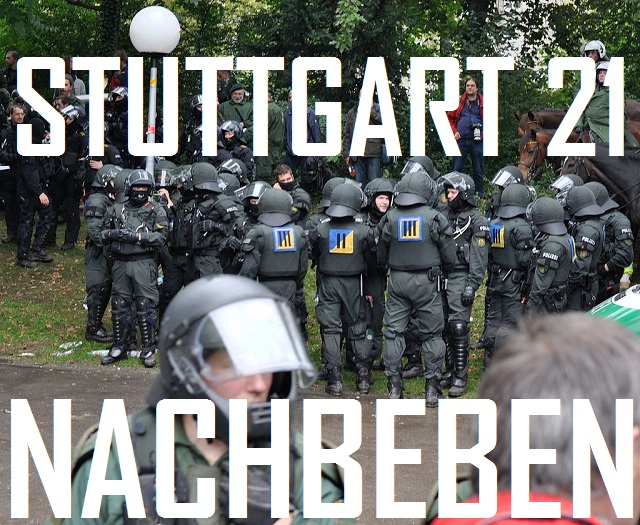 Stuttgart 21 - Nachbeben - Cover