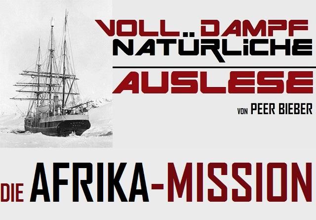 Voll Dampf - Natürliche Auslese - Die Afrika-Mission - Logo