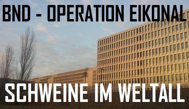 BND - Eikonal - Schweine im Weltall - Logo