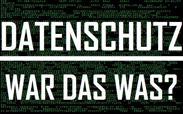 Datenschutz - War da was - Logo