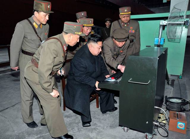 Nordkorea - Computertechnik