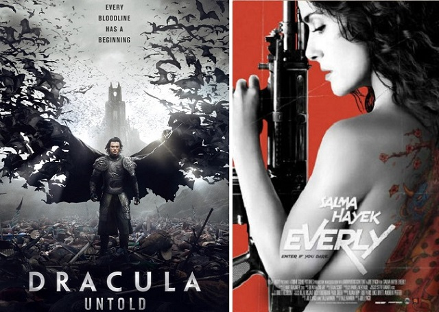 Double Feature - Dracula Untold - Everly - Logo