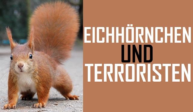 Eichhörnchen und Terroristen - Logo