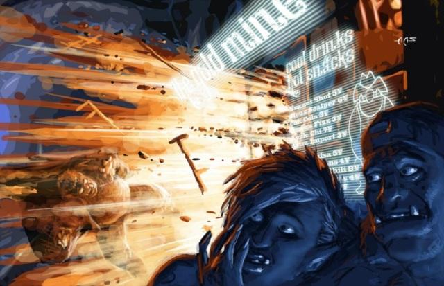 Explodierende Snackbar - AAS - Shadowrun 4
