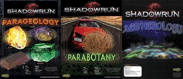 SR5 - Parageologie - Parabotanik - Aetherologie - Tripple Cover