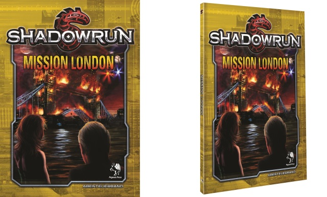 SR5 - Mission London - 2D3D Cover