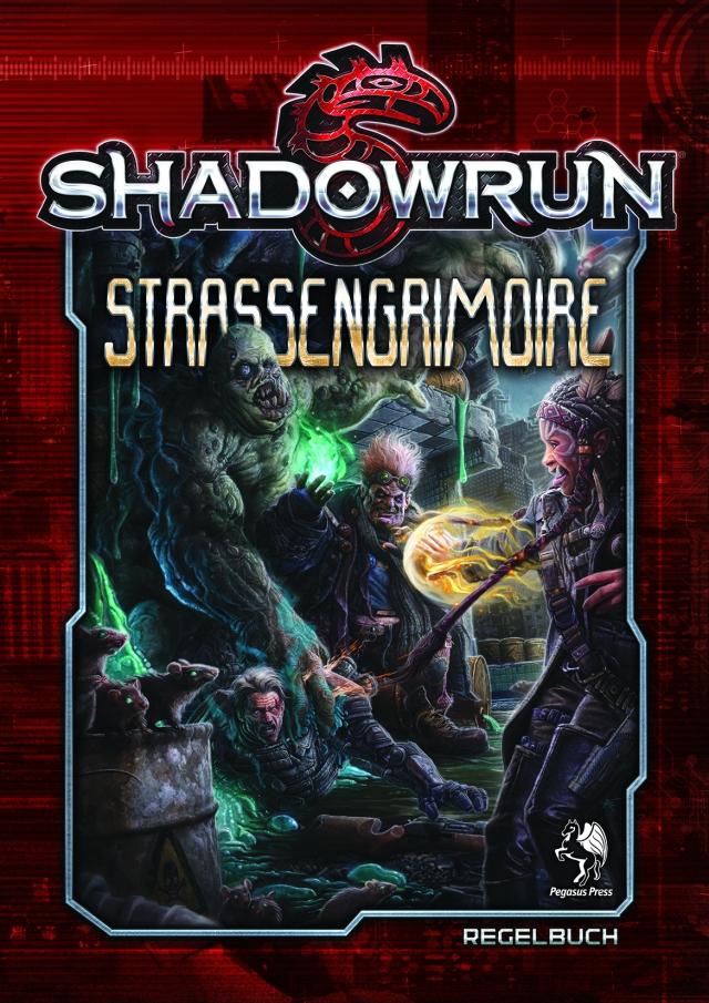 SR5 - Strassengrimoire - 2D Cover