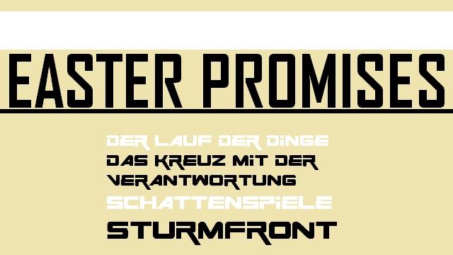 Easter Promises - Logo