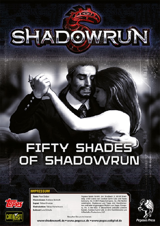 SR5 - 50 Shades of Shadowrun - PDF Cover Offiziell