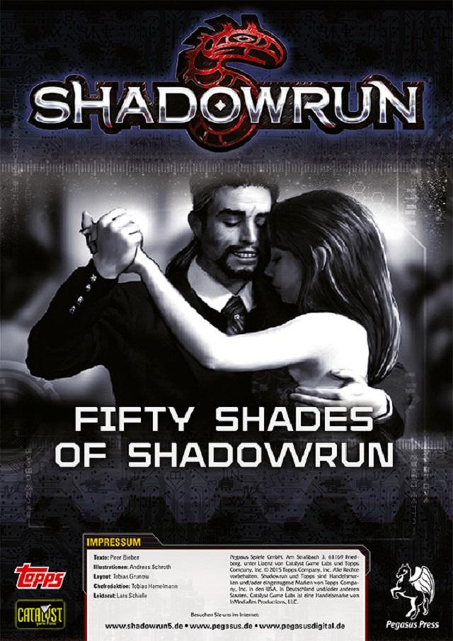 SR5 - 50 Shades of Shadowrun - PDF Cover Offiziell
