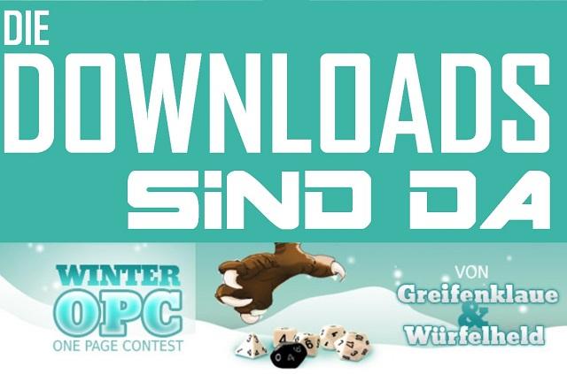 Winter OPC 2014 - Die Downloads sind da