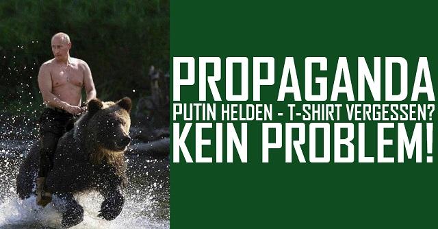 Putin Helden - T-Shirt - logo
