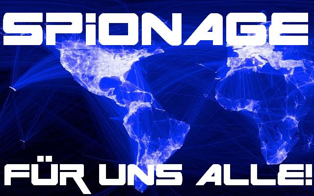 Spionage - Für uns alle - Logo