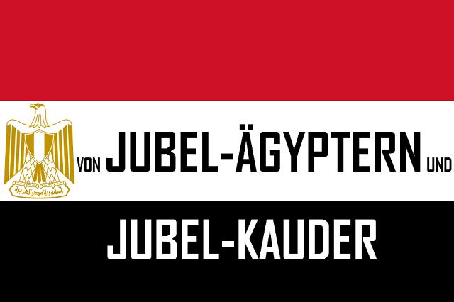 Jubel-Ägypter und Jubel-Kauder - Logo