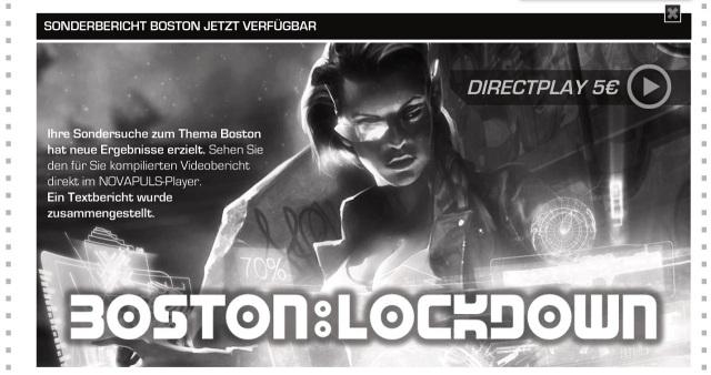 SR5 - Extrapuls - Boston Lockdown Sonderbericht Werbung