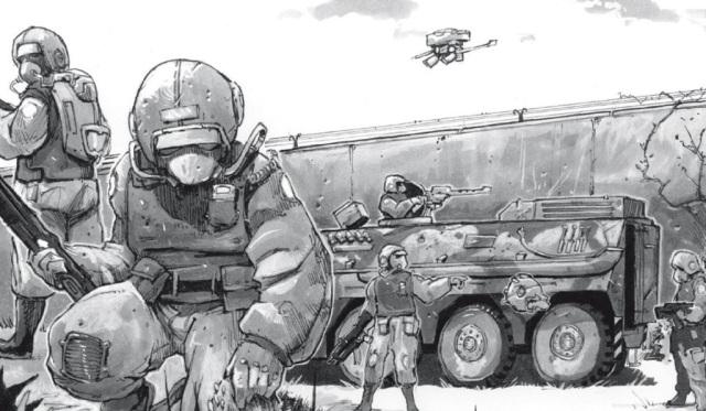 Shadowrun - Military Convoy